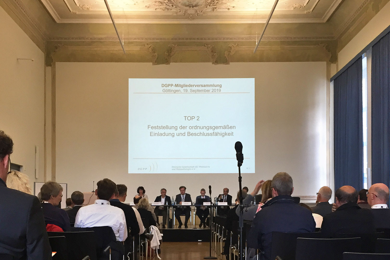 DGPP-Jahrestagung 2019 an der Uniklinik Göttingen