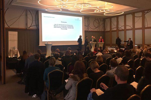 <i>11.01.2020</i> 15. Interdisziplinäres Symposium in Leipzig