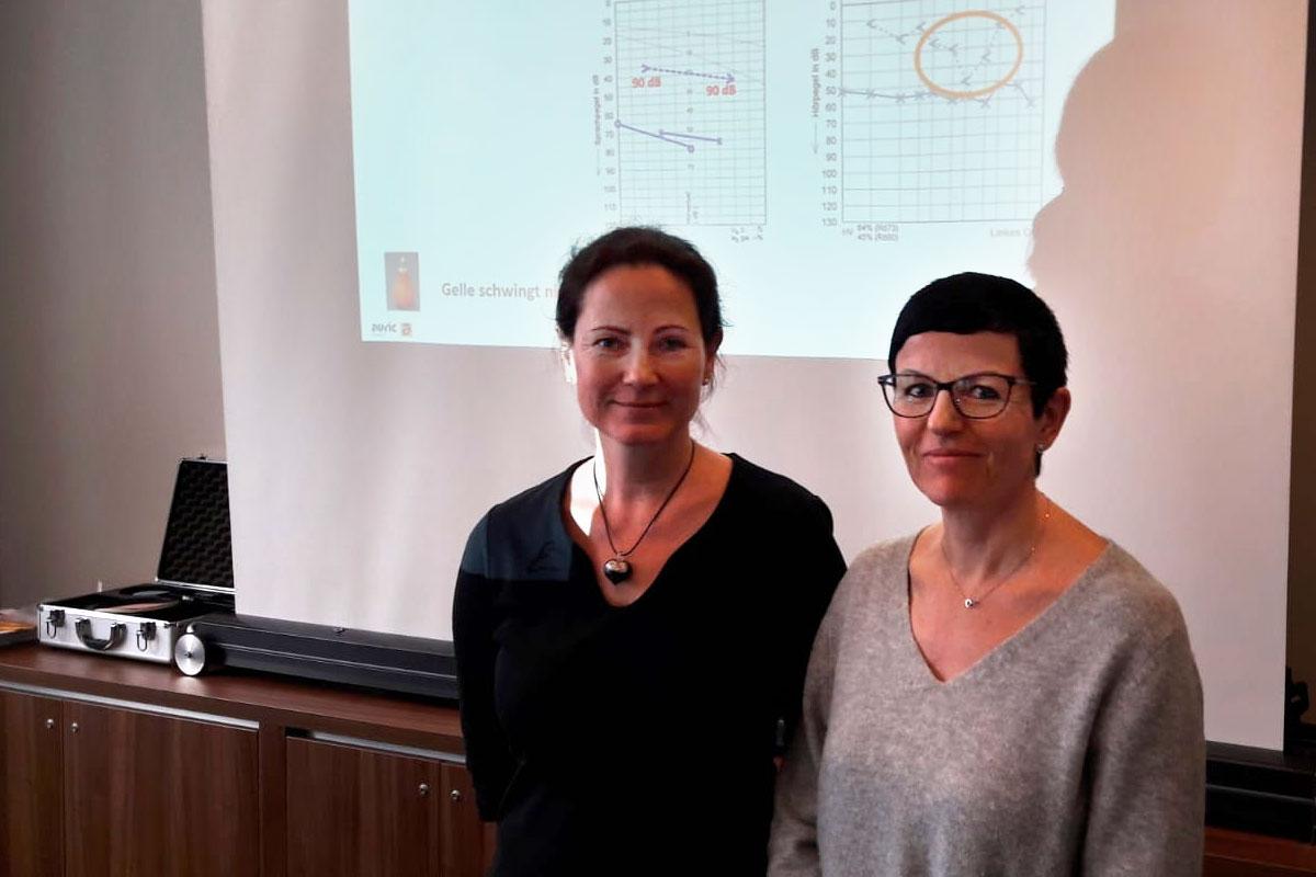 Auffrischungskurs Audiometrie: Frau Egert, Frau Engelhardt . Dresden 19.01.2020