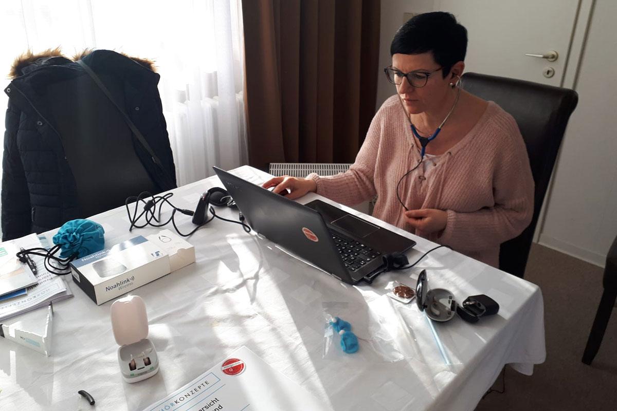 Anja Engelhardt . Training Hörsystemanpassung . Berlin 28.02.2020