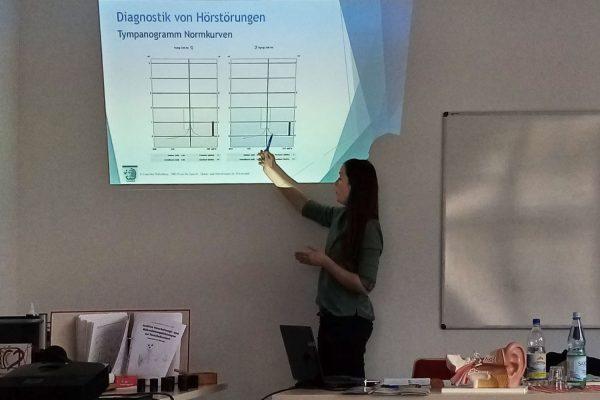 Fachvortrag Frau Wollenberg im IFZ Chemnitz über AVWS