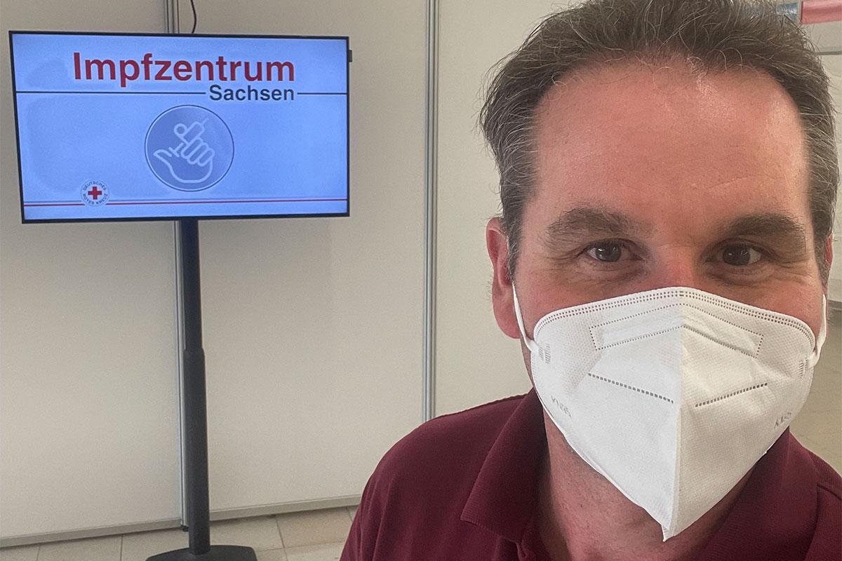 Dr. med. Woltersdorf: Impfarzt im Impfzentrum Chemnitz