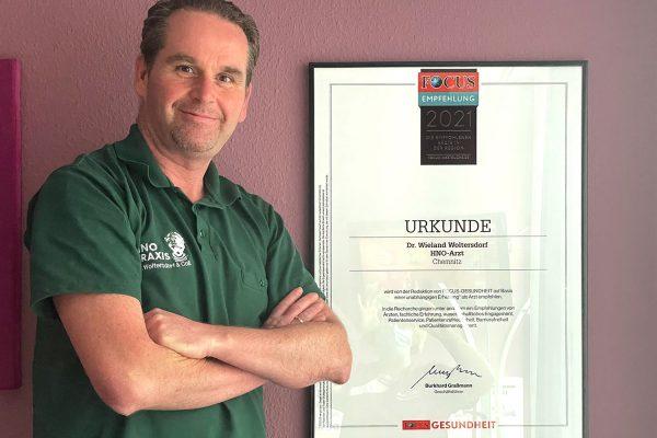 Dr. med. Woltersdorf wieder unter den besten Ärzten der Region