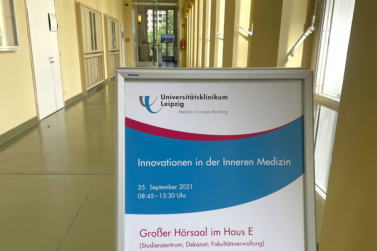 Tagung: Innovationen in der Inneren Medizin . Universitätsklinikum Leipzig 25.09.2021