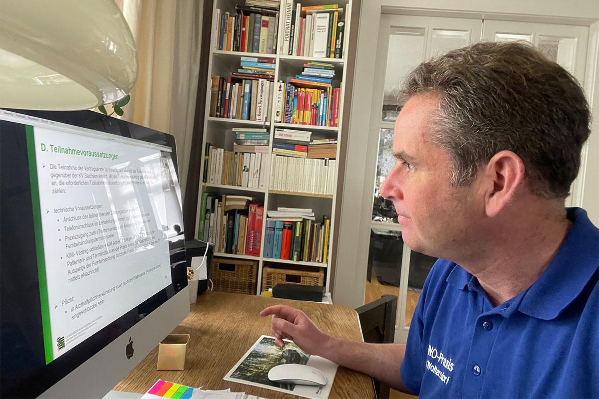 Praxis Dr. med. Woltersdorf & Coll.: Teilnahme am Sächsischen Fernbehandlungsmodell