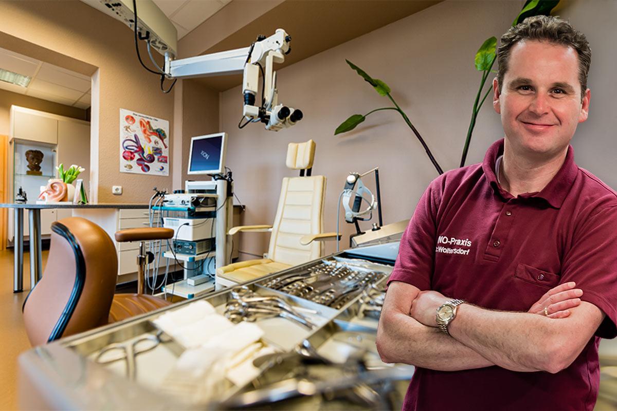Dr. med. Wieland Woltersdorf, HNO-Arzt in Chemnitz, Phoniater, Pädaudiologe, Naturheilverfahren