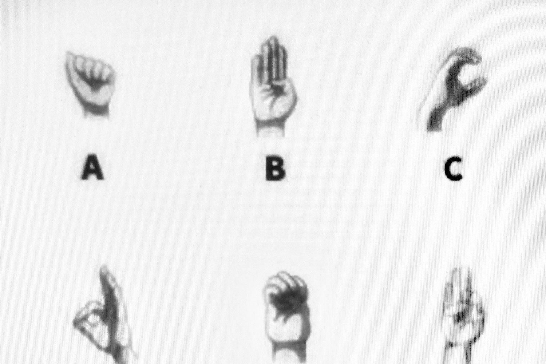 Finger-Alphabet