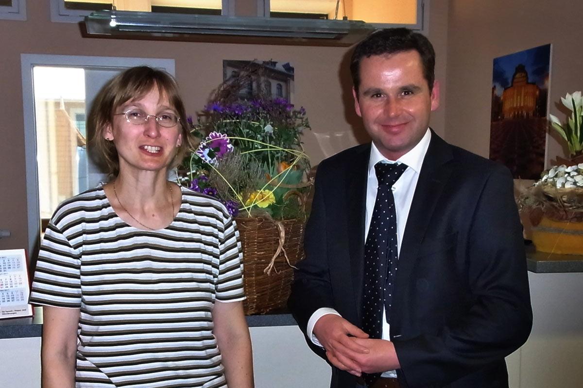 Birgit Rochler (Fa. Rochler: Hygiene, Desinfektion, Sterilisation) & Dr. med. Woltersdorf . HNO-Praxis Chemnitz