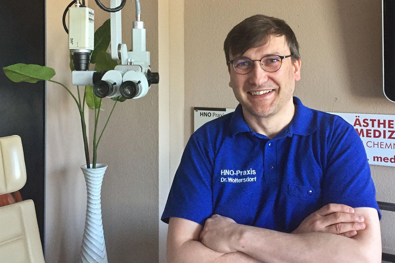 Mike Körner . Assistent . HNO Praxis Chemnitz