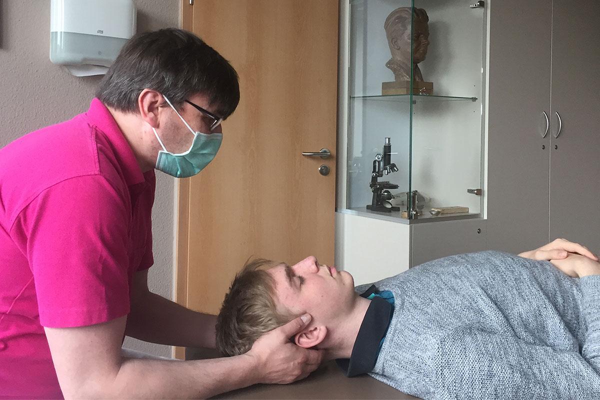 HNO-Praxis Chemnitz: Manuelle Therapie (Mike Körner)